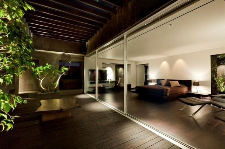 Appartement en duplex l ambiance minimaliste masculine - Appartement en duplex abraham architects ...