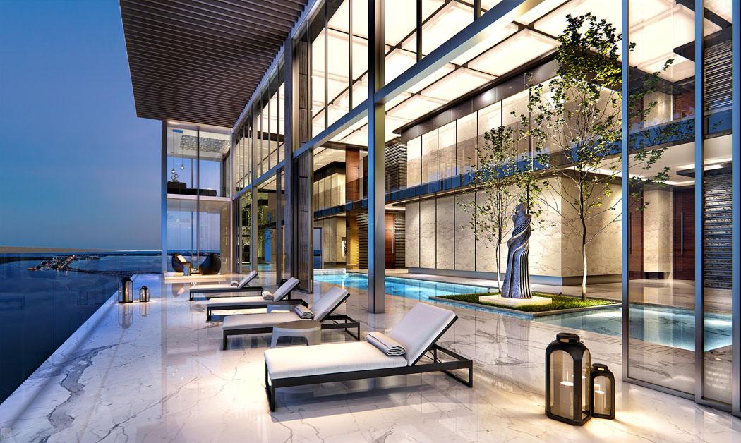 Un Penthouse Miami Ou Le Design Luxueux Et La Vue