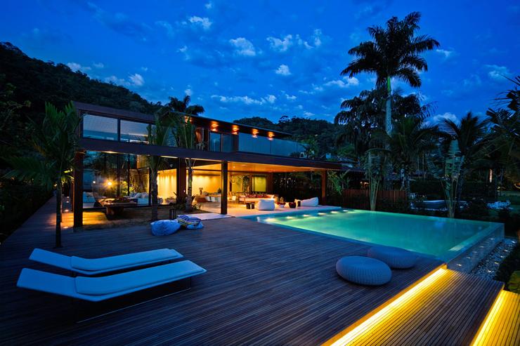 Belle maison contemporaine sur la côte brésilienne   Vivons maison