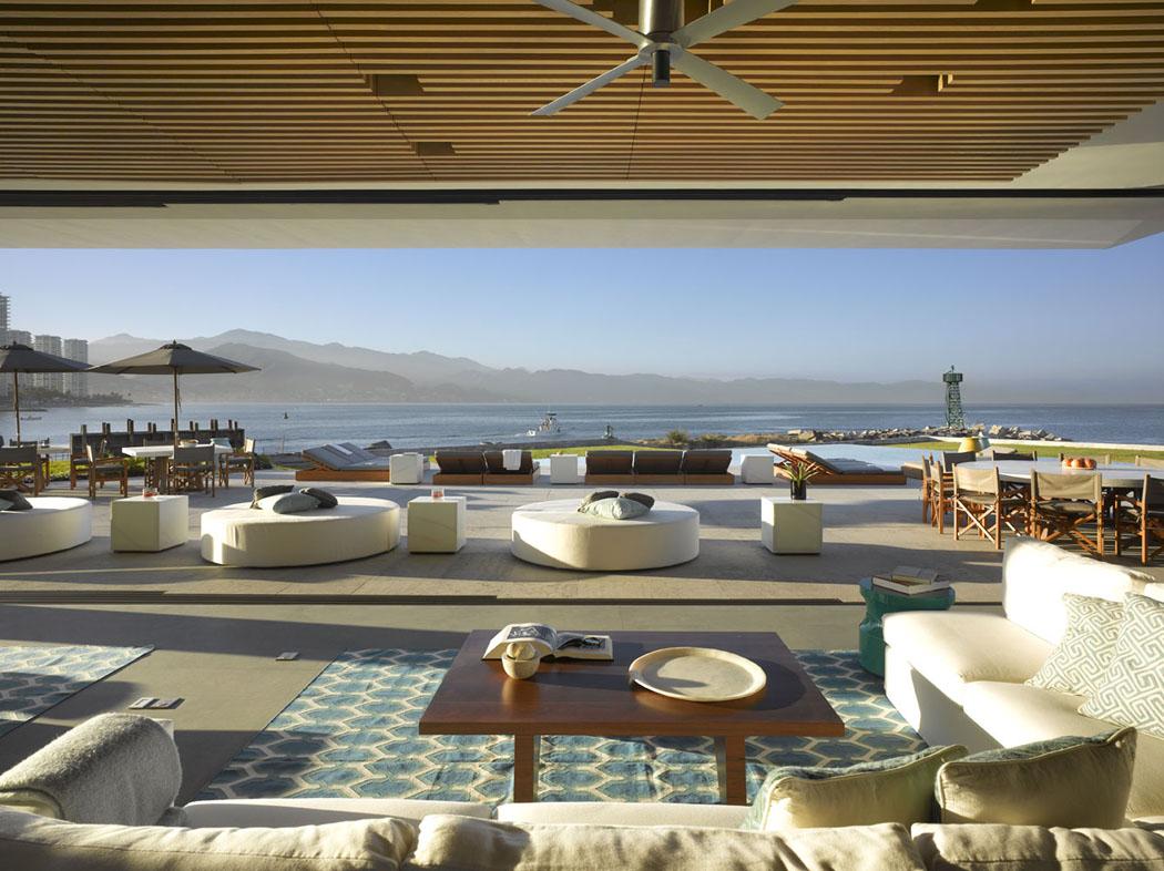 Maison neuve avec vue sur l eau l architecture inspir e - Maison secondaire cotiere avec vue katch ...