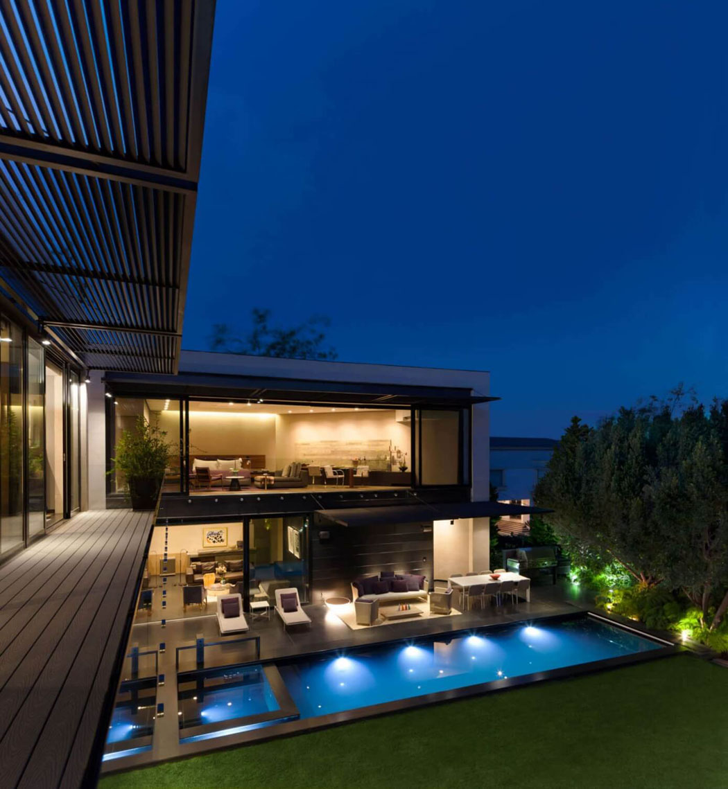 Belle r sidence de standing l architecture contemporaine - Architecture contemporaine residence parks ...
