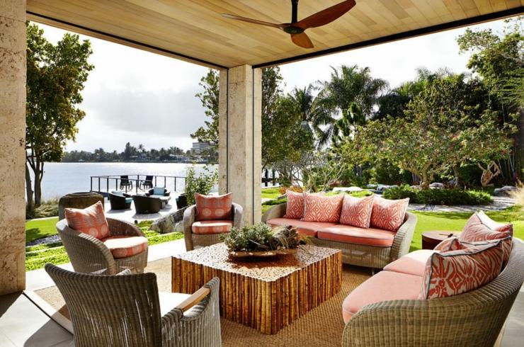 Influence asiatique pour cette magnifique r sidence de - Villa de luxe vacances miami j design ...