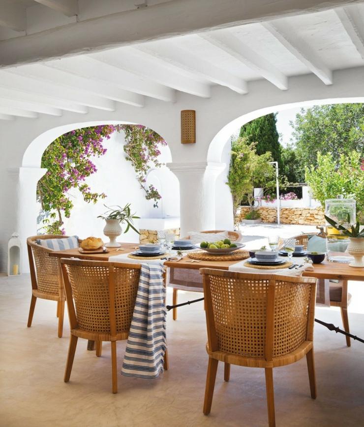 L Univers D Inès Mediterranean Style: Jolie Maison De Charme Rustique à Ibiza