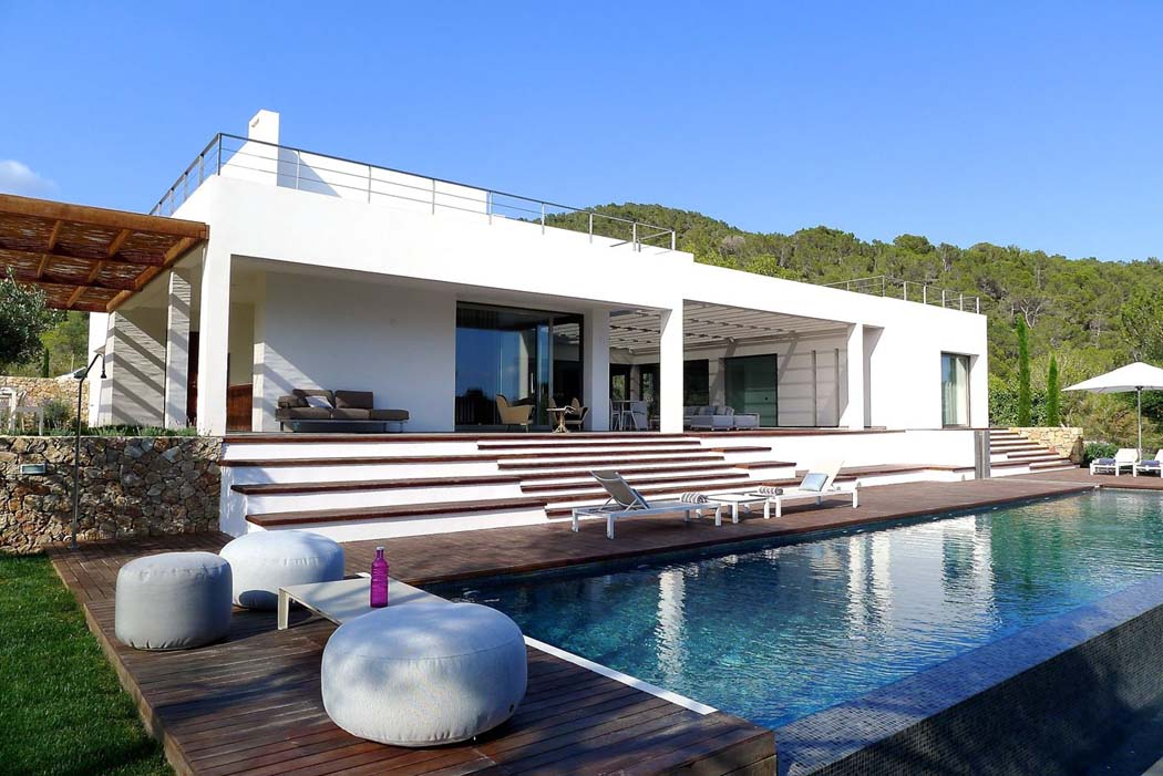 Villa architecture for Piscine de reve