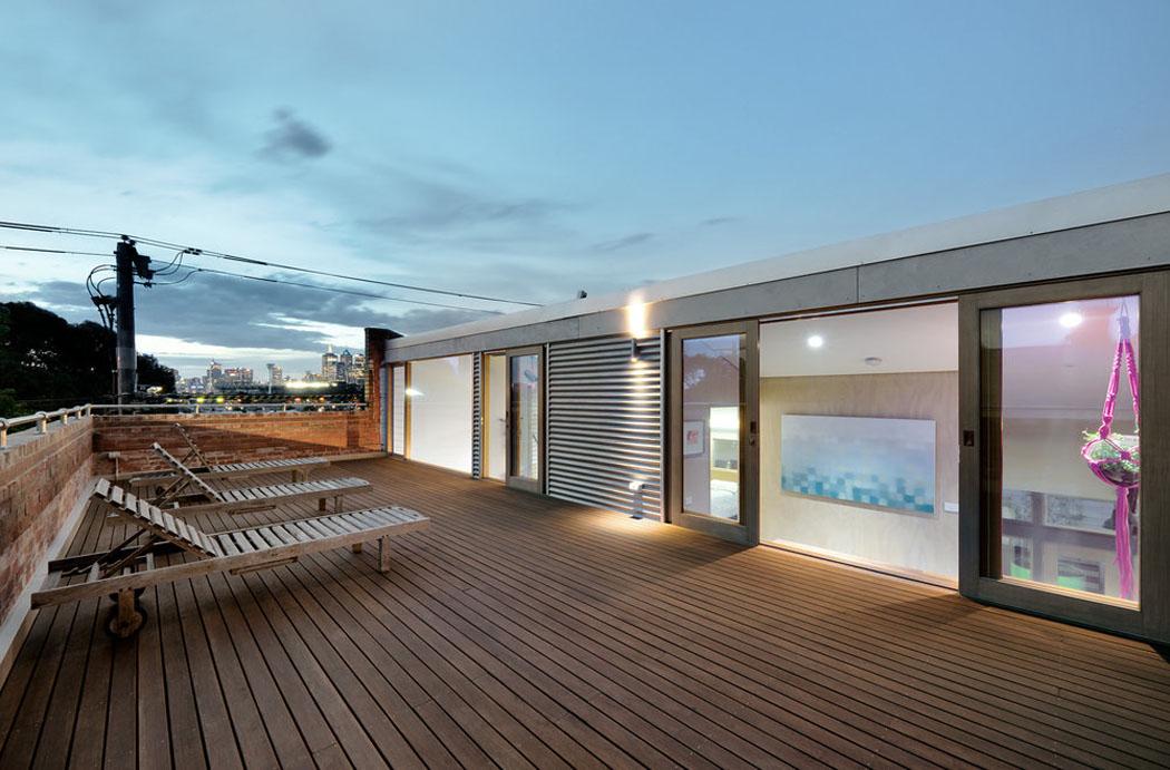 R novation loft projet cr atif et original au centre de melbourne vivons maison - Commentaar meubler un loft ...