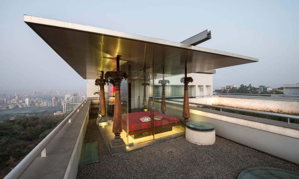originale et int ressante maison de charme la fa ade recycl e mumbai vivons maison. Black Bedroom Furniture Sets. Home Design Ideas