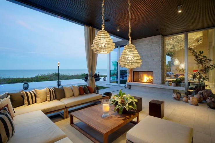 Villa de rêve avec magnifique vue sur la mer en Floride ...