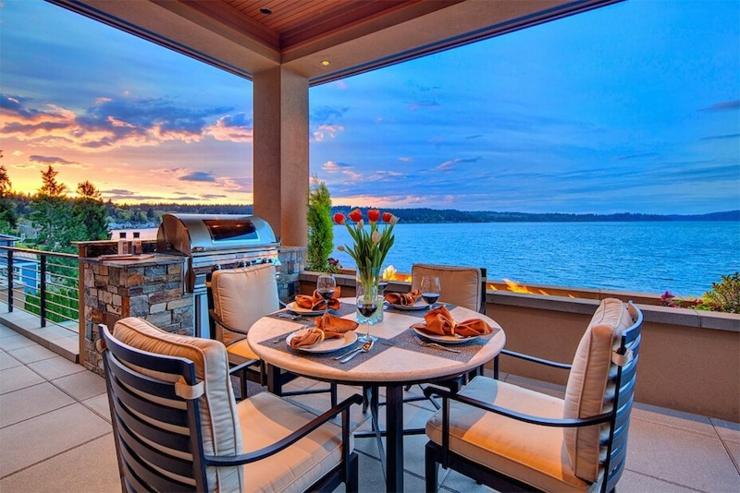 Magnifique maison de charme situ e au bord d un lac pr s de seattle vivons maison - Maison avec vue lac lands end ...