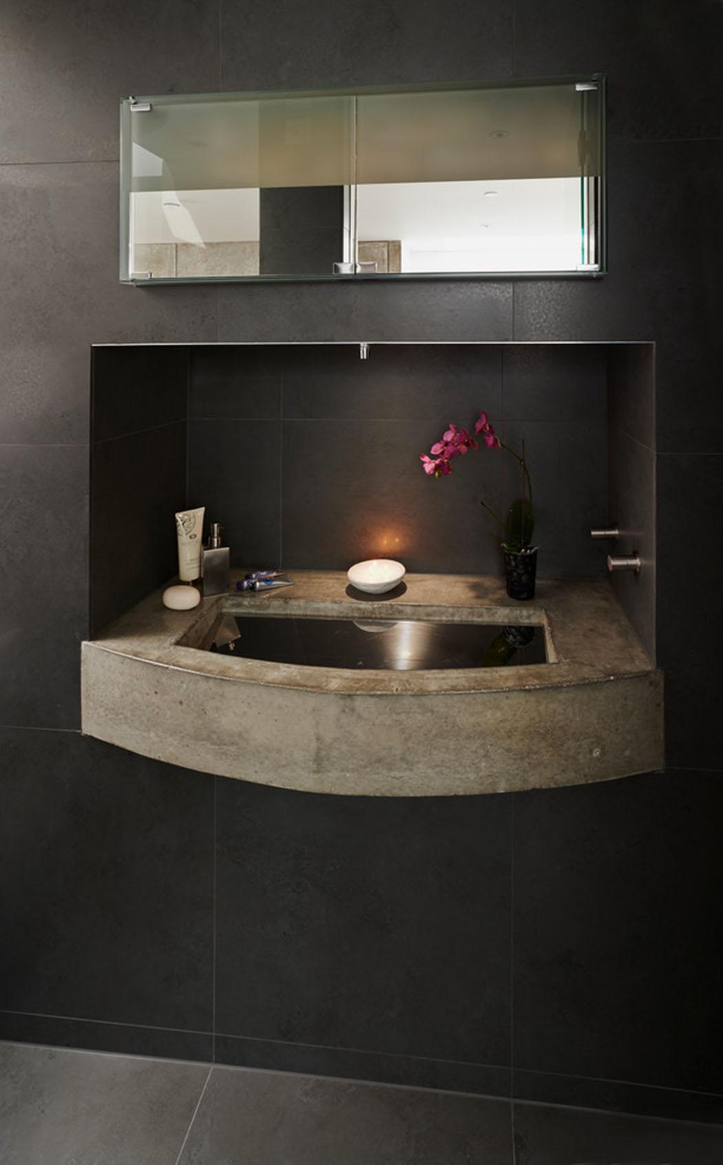 Interieur maison moderne toilette for College lasalle design interieur