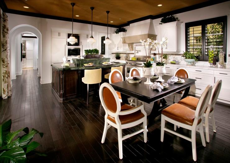 Tr s belle maison c ti re l int rieur rustique vivons for Sites de decoration interieure maison