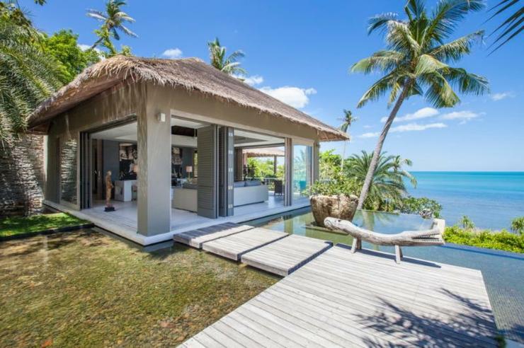 Vacances exotiques dans une villa de r ve tha vivons maison - Bungalow de jardin design ...