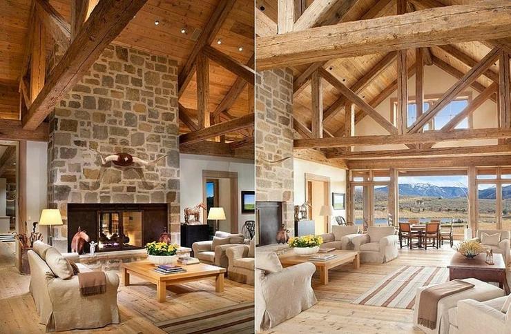 vacances la montagne uniques dans une ambiance rustique vivons maison. Black Bedroom Furniture Sets. Home Design Ideas