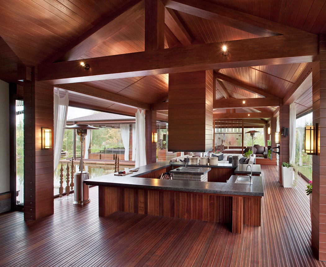 belle et spacieuse r sidence de grand standing pr s de moscou vivons maison. Black Bedroom Furniture Sets. Home Design Ideas