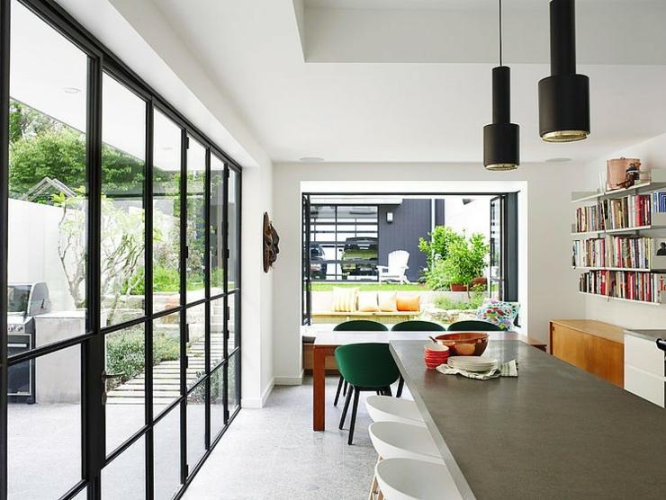 maison moderne l int rieur clectique vivons maison. Black Bedroom Furniture Sets. Home Design Ideas