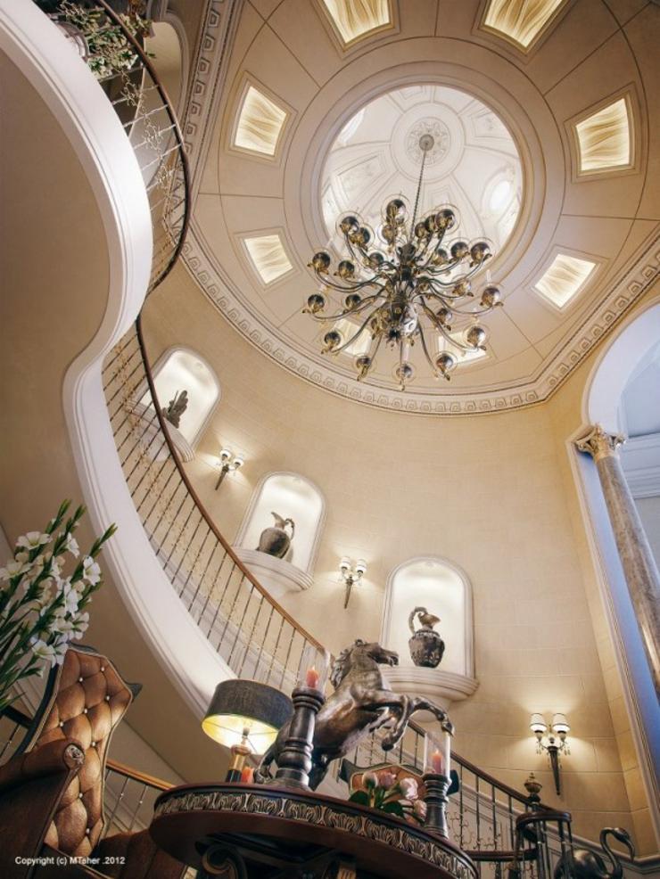 Villa De Luxe Au Design DIntrieur Oriental Au Qatar  Vivons Maison