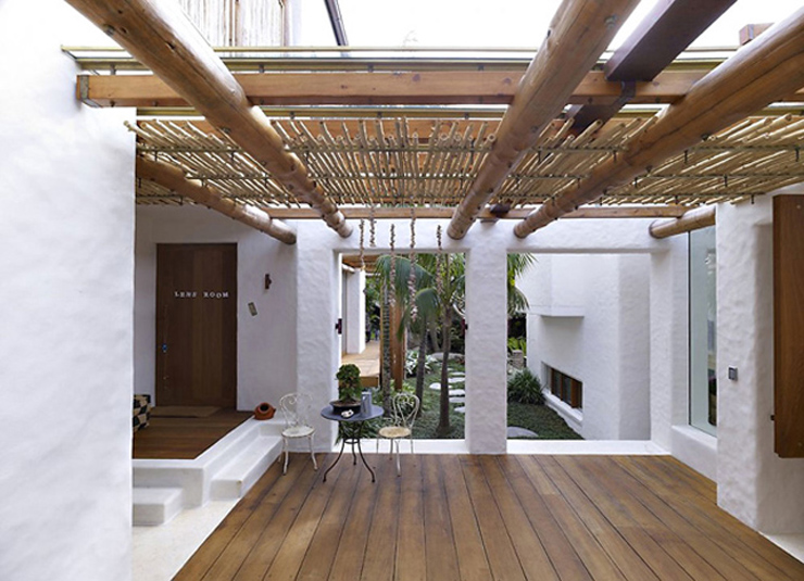 Villa de luxe coogee sur la c te australienne vivons maison for Bois design interieur