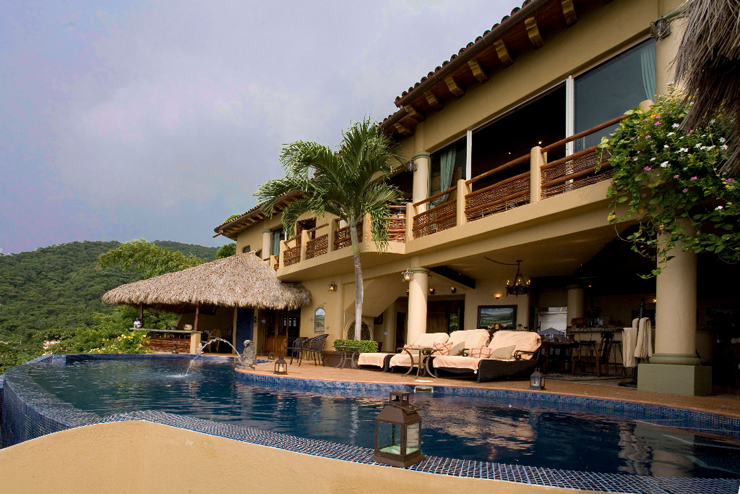 Villa de luxe louer pueto vallarta au mexique vivons - Vacances a la montagne villa rustique aspen ...