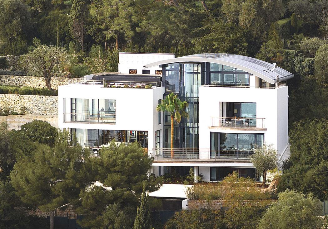 Magnifique villa de r ve saint jean cap ferrat offre une for Maison de reve a louer