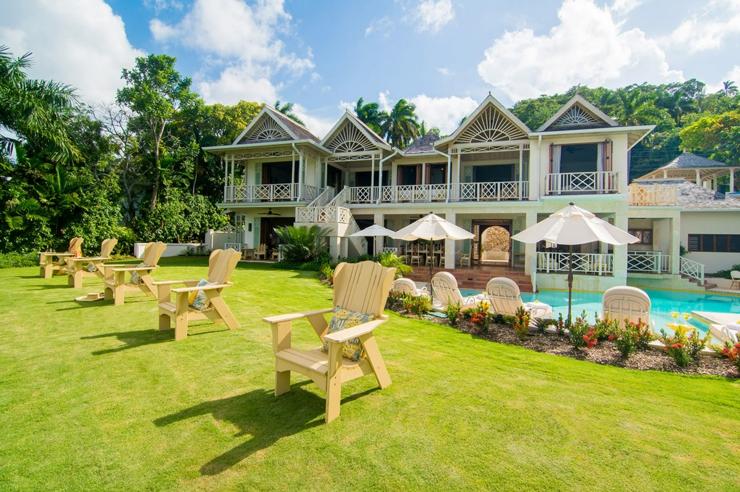 Villa de r ve pineapple tryall en jama que vivons for Acheter maison jamaique