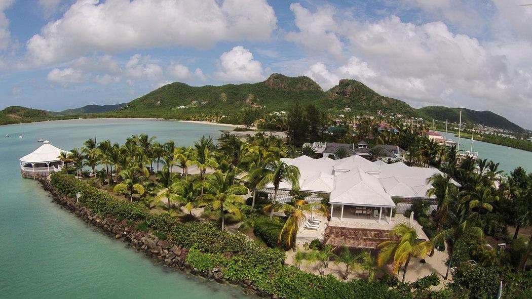 Une location de vacances au paradis palm point villa antigua vivons maison - Villa de vacances luxe location think ...
