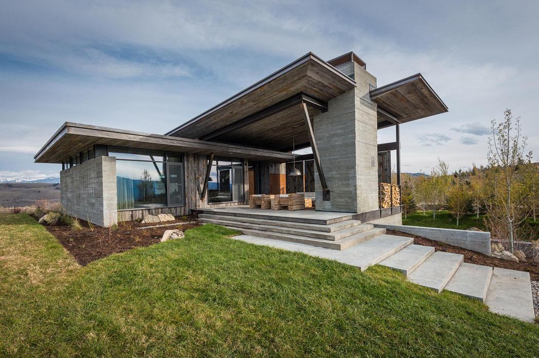 Une maison rustique modernis e dans l esprit clectique - Maison secondaire cotiere avec vue katch ...