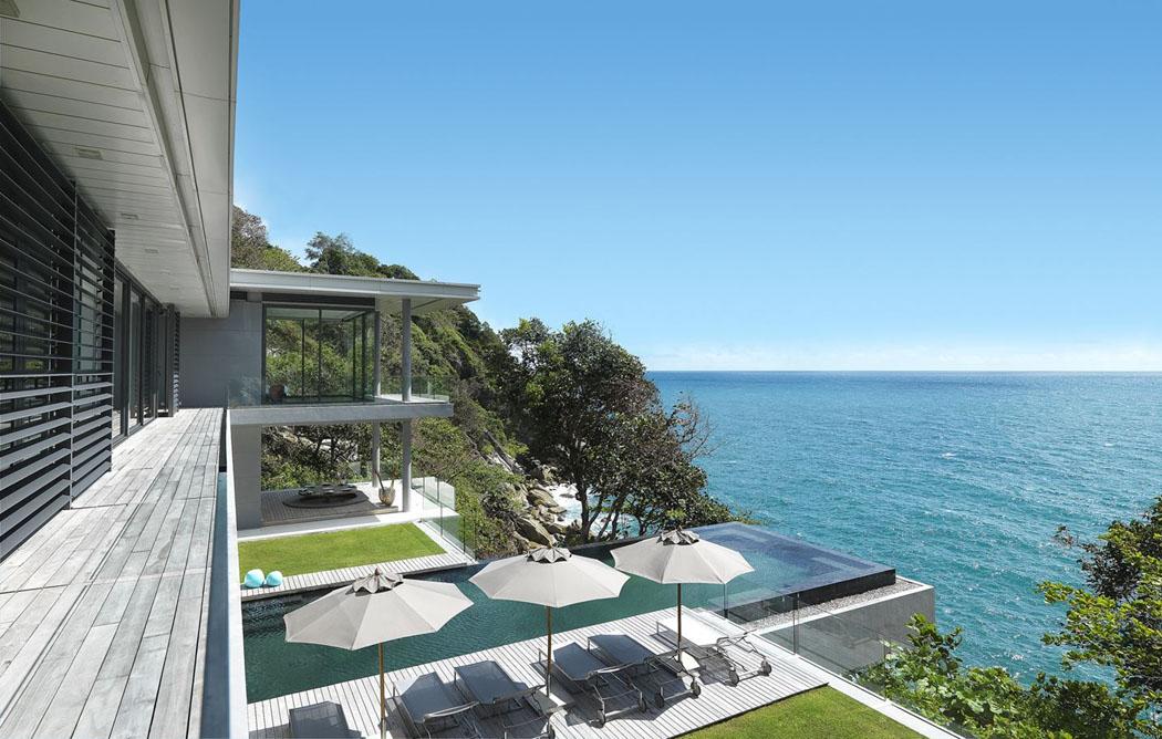 Magnifique villa de r ve l architecture originale et - Magnifique maison renovee eclectique coloree sydney ...