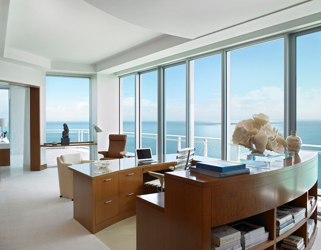 R sidence de vacances luxueuse miami avec splendide vue - Residence de vacances contemporaine miami ...