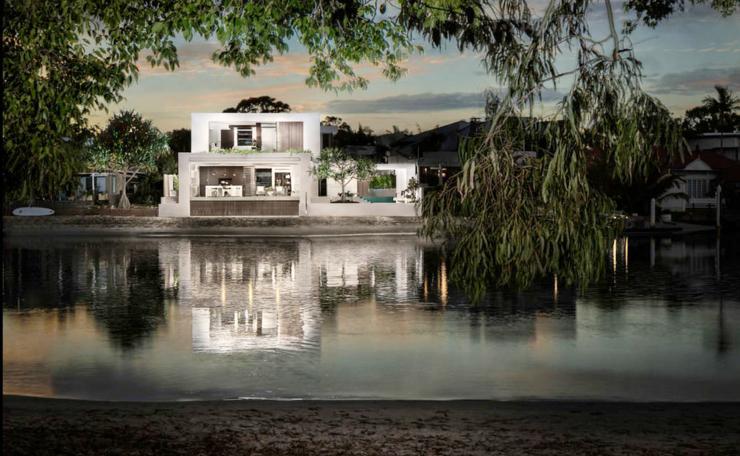 L l gance et le style contemporain d une maison d architecte vivons maison - Maison rustique luxe montecito grant ...